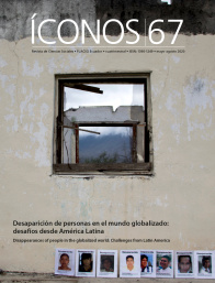 Revista Íconos No. 67, may. 2020